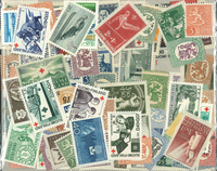 Finlande - 125 timbres neufs différents