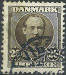 Danmark - AFA nr. 57t - Stemplet