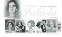 Belgium - Fabiola - Mint souvenir sheet