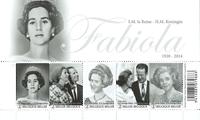 Belgien - Fabiola - Postfrisk miniark