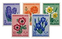 Holland 1953 - NVPH 602-606 - Postfrisk