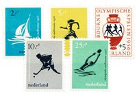 Holland 1956 - NVPH 676-680 - Postfrisk