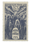 France 1951 - YT 879 - Neuf