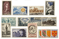France 1955 - Selected Stamps - Mint