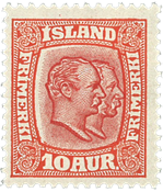 Iceland 1907 - AFA no.53 - Mint