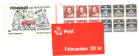 Denmark - Stamp booklet 1985 - AFA no. 2