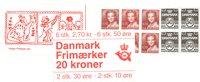 Danmark 1984 - Frimærkehæfte - AFA 1