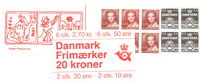 Denmark - Stamp booklet 1984 - AFA no. 1