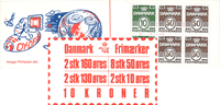 Denmark - Stamp booklet 1981 - AFA no.  6