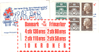 Denmark - Stamp booklet 1979 - AFA no.  5