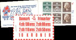 Danmark 1979 - Frimærkehæfte - AFA 5