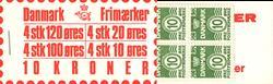 Danmark 1977 - Frimærkehæfte - AFA 4
