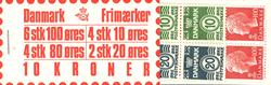 Danmark 1976 - Frimærkehæfte - AFA 3