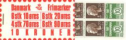Danmark 1974 - Frimærkehæfte - AFA 2