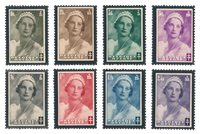 Belgique - Deuil Reine Astrid 1935 - Neuf avec ch.  (OBP 411-18)