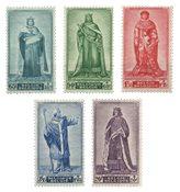 Belqique - Princes du Moyen Age 1947 - Neuf avec ch. (OBP 751-55)