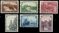 Belgium 1929 - OBP 293-98 - Unused