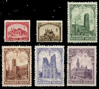 Belgium 1928 - OBP 267-72 - Unused