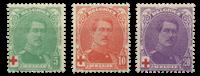 Belgien  - OBP 129-31 - Ubrugt