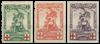 Belgien  - OBP 126-28 - Ubrugt