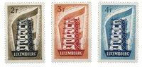 Luxembourg 1956 - Michel 555-57 - Postfrisk