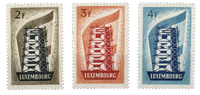 Luxembourg 1956 - Michel 555-57 - Neuf