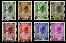 Belgium 1937 - OBP 458-65 - Unused