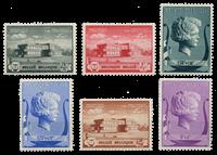 Belgien 1940 - OBP532-37 - Ubrugt