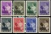 Belgien 1937 - OBP 447-54 - Ubrugt