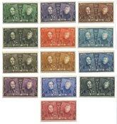 Belgique - Série jubilée Albert/Léopold - Neuf avec ch. (OBP 221-33)