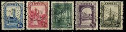 Belgien 1929 - OBP 292C-G - Stemplet
