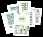 Færøerne - 6 private udkast til de første færøske frimærker