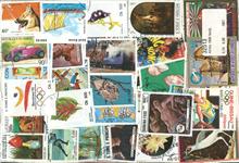 Afrika - 1000 forskellige frimærker.