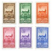 Luxembourg - FIP kongres i 1936- Ubrugt (MICHEL 290-295)