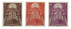 Luxembourg - Europa 1957 serie- Ubrugt (Mi. 572/74)