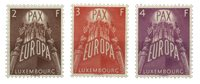 Luxembourg - Europa 1957 serie- Ubrugt (Mi. 572/74)