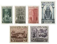 Luxembourg 1938 - Michel 309-14 - Postfrisk