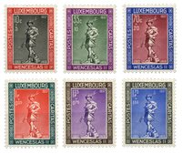 Luxembourg 1937 - Michel 303-08 - Neuf