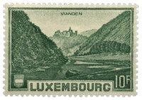 Luxembourg - Landskaber 1935- Ubrugt (MICHEL 283)