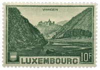 Luxembourg 1935 - Michel 283 - Neuf avec ch.