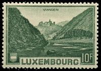 Luxembourg - Landskaber 1935- Ubrugt (Mi. 283)