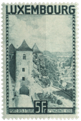 Luxembourg 1934 - Michel 258 - Neuf avec ch.
