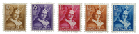 Luxembourg - 252-56 - Postfrisk