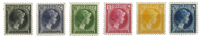 Luxembourg 1930 - Michel 221-226 - Neuf avec ch.