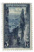 Luxembourg - 1923 Landskaber II, 3FR.- Ubrugt (Mi.  147)