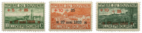 Luxembourg 1923 - Michel 144-146 - Neuf avec ch.