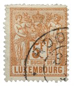 Luxembourg - Michel 56 - Cancelled