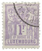 Luxembourg - Michel 55 - Stemplet