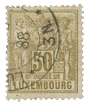 Luxembourg - Michel 54 - Stemplet