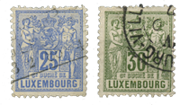 Luxembourg - Michel 52-53 - Obl.